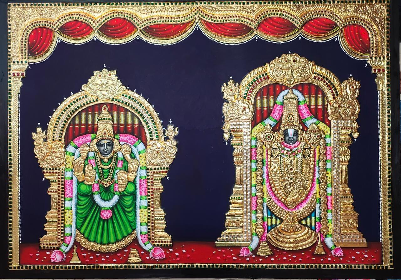 Tanjore Painting Shanmugasundaram - 08