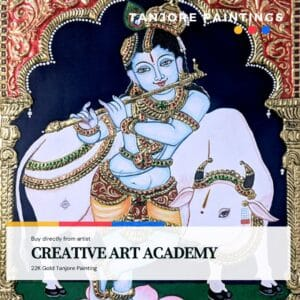 Tanjore Painting - CREATIVE ART ACADEMY