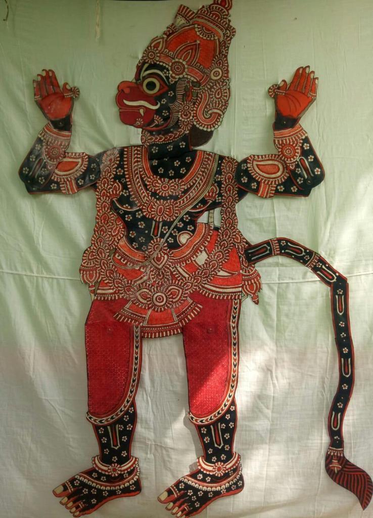 Leather Puppet, Artist Dalavayi Kullayappa