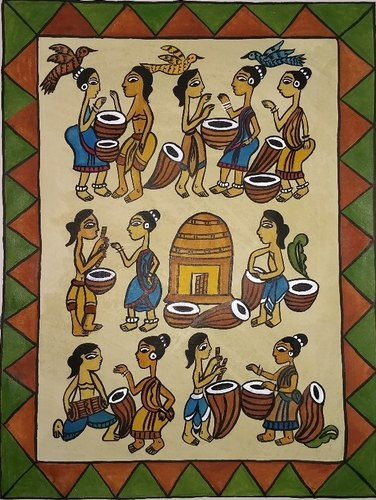 Jadopatia Painting, Source: The Cultural Heritage of India