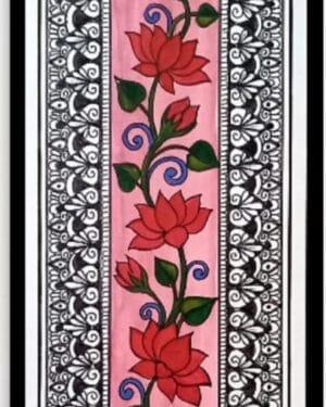 Floral mandala - mandala art - geetanjali - 36